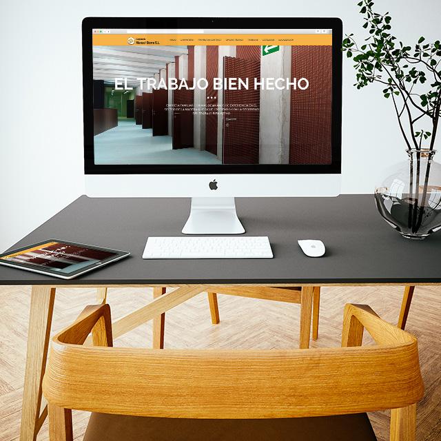 Sitio web Manuel sierra